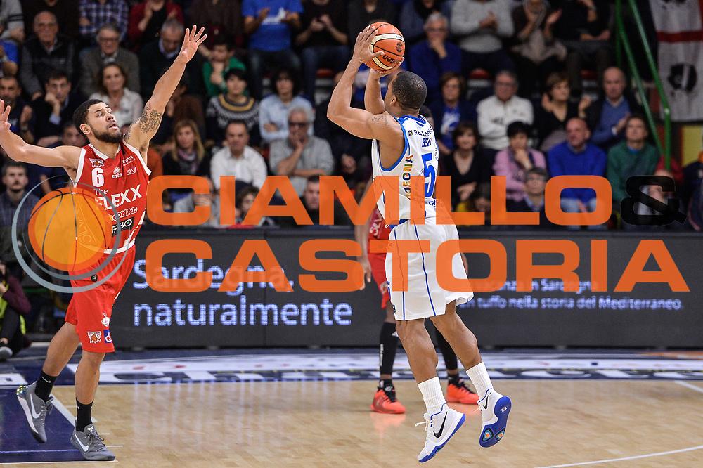 David Bell<br /> Banco di Sardegna Dinamo Sassari - The Flexx Pistoia Basket<br /> Legabasket Serie A LBA Poste Mobile 2016/2017<br /> Sassari 04/03/2017