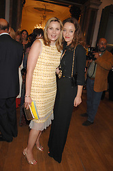 Left to right, KIM CATTRALL and ALICE TEMPERLEY at the Royal Academy of Arts Summer Exhibition Party at the Royal Academy, Piccadilly, London on 6th June 2007.<br />
