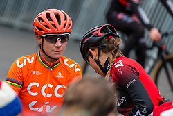 VOS Marianne (NED) at the start of Women Elite race, 2019 UCI Cyclo-cross World Cup Heusden-Zolder, Belgium, 26 December 2019.<br /> <br /> Photo by Pim Nijland / PelotonPhotos.com <br /> <br /> All photos usage must carry mandatory copyright credit (Peloton Photos | Pim Nijland)