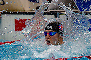 Reece Dunn of Great Britain celebrates after winning Gold in the Men's 100 m Butterfly S14 during the World Para Swimming Championships 2019 Day 7 held at London Aquatics Centre, London, United Kingdom on 15 September 2019.