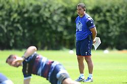 Pat Lam over sees training - Mandatory by-line: Dougie Allward/JMP - 20/07/2017 - Rugby - Clifton RFC - Bristol, England - Pre Season Training