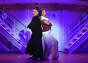 April 7, 2016, East Haddam, CT<br /> Mara Lavitt -- Special to the Hartford Courant<br /> The run-through of  the classic Cole Porter musical &quot;Anything Goes&quot; being performed at Goodspeed Musicals in East Haddam. Stephen DeRosa as Moonface Martin and Rashidra Scott as Reno Sweeney.