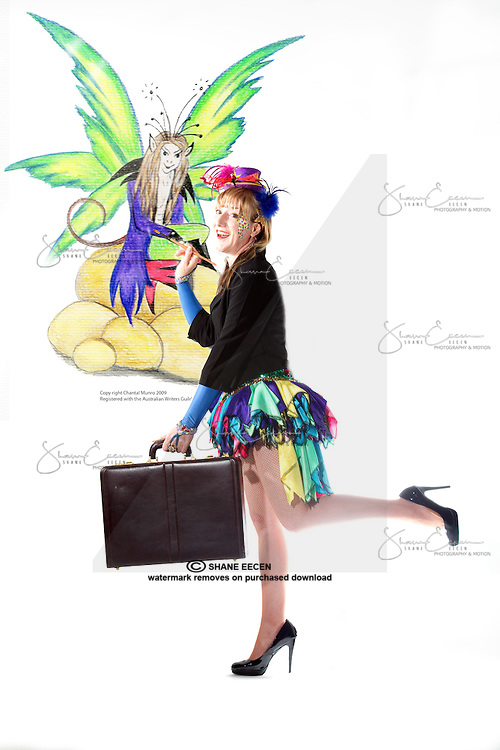 Chantal Munro. Chantal The Fairy. Darwin Life Magazine. Photo Shane Eecen