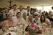 Tamzin Outhwaithe, Ray Winstone, Susie Amy and friends, Veuve Clicquot Gold Cup 2006. Final day. 23 July 2006. ONE TIME USE ONLY - DO NOT ARCHIVE  © Copyright Photograph by Dafydd Jones 66 Stockwell Park Rd. London SW9 0DA Tel 020 7733 0108 www.dafjones.com