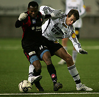 Fotball , 18. Januar 2009 , Color line cup , <br /> <br /> finale<br /> Rosenborg junior - FC midtjylland junior 1-4<br /> <br /> Sylvester emega - fc midtjylland junior<br /> michael karlsen - rosenborg rekrutt<br /> <br /> <br /> Foto: Richard brevik, Digitalsport