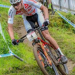 20-05-2018: Wielrennen: WC MTB: Albstadt<br /> Mathieu van der Poel wordt derde in WB MTB in het Duitse Albstadt
