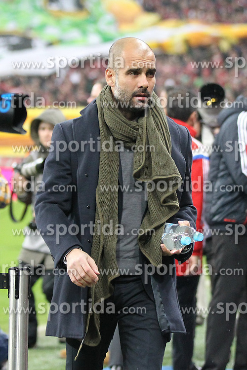 27.02.2015, Allianz Arena, Muenchen, GER, 1. FBL, FC Bayern Muenchen vs 1. FC K&ouml;ln, 23. Runde, im Bild Chef-Trainer Pep Guardiola (FC Bayern Muenchen) // during the German Bundesliga 23rd round match between FC Bayern Munich and 1. FC K&ouml;ln at the Allianz Arena in Muenchen, Germany on 2015/02/27. EXPA Pictures &copy; 2015, PhotoCredit: EXPA/ Eibner-Pressefoto/ EXPA/ Kolbert<br /> <br /> *****ATTENTION - OUT of GER*****