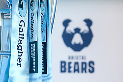 Bristol Bears crest at the launch of the 2018/19 Gallagher Premiership Rugby Season Fixtures - Mandatory by-line: Robbie Stephenson/JMP - 06/07/2018 - RUGBY - BT Tower - London, England - Gallagher Premiership Rugby Fixture Launch
