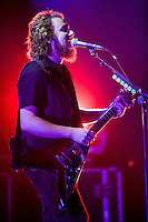 Jim James and My Morning Jacket perform at Radio City Music Hall.