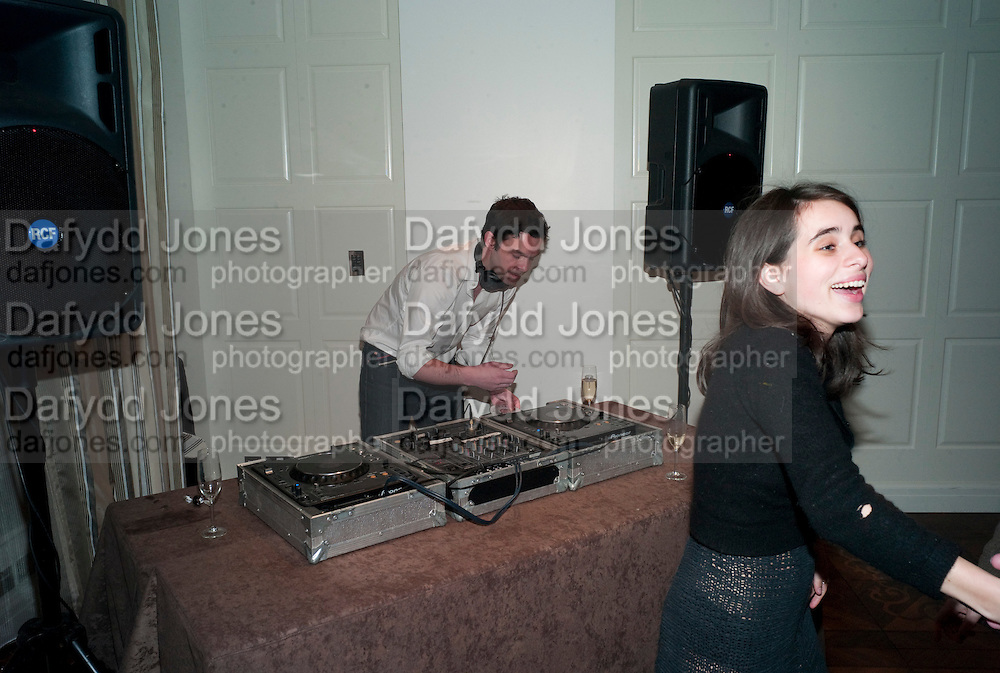 ELLIOT MACDONALD; ASSISI JACKSON, The after-party after the premiere of Duncan WardÕs  film ÔBoogie WoogieÕ ( based on the book by Danny Moynihan). Westbury Hotel. Conduit St. London.  13 April 2010 *** Local Caption *** -DO NOT ARCHIVE-© Copyright Photograph by Dafydd Jones. 248 Clapham Rd. London SW9 0PZ. Tel 0207 820 0771. www.dafjones.com.<br /> ELLIOT MACDONALD; ASSISI JACKSON, The after-party after the premiere of Duncan Ward's  film 'Boogie Woogie' ( based on the book by Danny Moynihan). Westbury Hotel. Conduit St. London.  13 April 2010