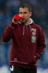 15.10.2011, Veltins Arena, Gelsenkirchen, GER, 1. FBL, FC Schalke 04 vs. 1. FC Kaiserslautern, im Bild Marco Kurz (Trainer Kaiserslautern) // during FC Schalke 04 vs. 1. FC Kaiserslautern at Veltins Arena, Gelsenkirchen, GER, 2011-10-15. EXPA Pictures © 2011, PhotoCredit: EXPA/ nph/  Kurth       ****** out of GER / CRO  / BEL ******
