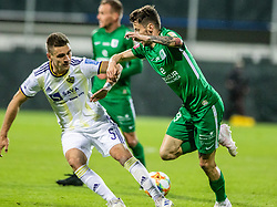 Suljic Asmir of NK Olimpija Ljubljana vs Blaz Vrhovec of NK Maribor during football game between NK Olimpija Ljubljana and NK Maribor in Final Round (18/19)  of Pokal Slovenije 2018/19, on 30th of May, 2014 in Arena Z'dezele, Ljubljana, Slovenia. Photo by Matic Ritonja / Sportida