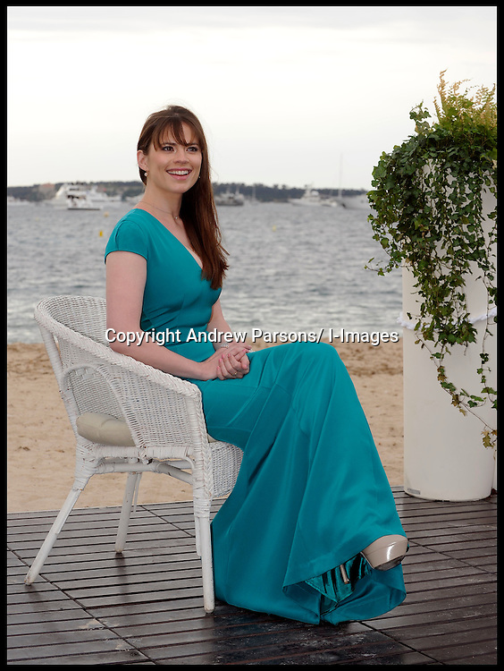 "British Actress Hayley Atwell (""Captain America: First Avenger"", ""Any Human Heart"", ""The Prisoner"", ""The Duchess"" poses for photographers in Cannes to promote her film 10 Things I Hate About Life, Friday 18th May 2012. Photo by i-Images."