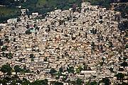 Port-au-Prince.Bidonville de Canape Vert pre?s de Petion ville.Shanty town of Canape vert, Port-au-Prince