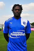 Seydou Kone - 05.09.2014 - Photo officielle Niort - Ligue 2 2014/2015<br /> Photo : Philippe Le Brech / Icon Sport