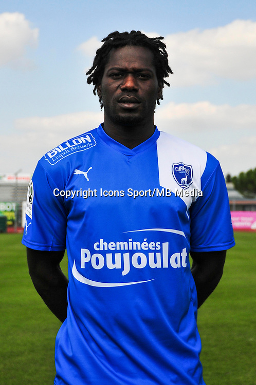 Seydou Kone - 05.09.2014 - Photo officielle Niort - Ligue 2 2014/2015<br /> Photo : Philippe Le Brech / Icon Sport