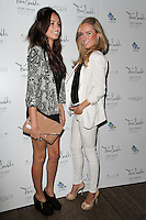 LONDON - SEPTEMBER 26: Anita Kaushik; Kimberley Garner attended the launch party for Tara Smith Haircare at Sketch, London, UK. September 26, 2012. (Photo by Richard Goldschmidt)
