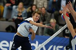 20181103 NED: Eredivisie, Sliedrecht Sport - Abiant Lycurgus: Sliedrecht<br />Yorick de Groot (5) of Sliedrecht Sport<br />©2018-FotoHoogendoorn.nl / Pim Waslander