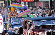 Napier-Thousands line Napier Streets for Art Deco parade
