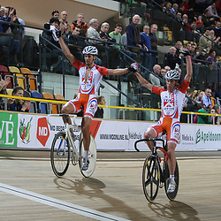 NK Koppelkoers 2008-200 Wim Stroetinga, Peter Schep