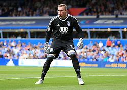 David Stockdale of Birmingham City - Mandatory by-line: Paul Roberts/JMP - 26/08/2017 - FOOTBALL - St Andrew's Stadium - Birmingham, England - Birmingham City v Reading - Sky Bet Championship