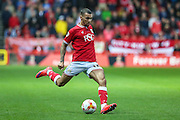 Bristol City's Ryan Fredericks during the Sky Bet Championship match between Bristol City and Leeds United at Ashton Gate, Bristol, England on 19 August 2015. Photo by Shane Healey.