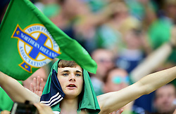 Northern Ireland fans  - Mandatory by-line: Joe Meredith/JMP - 12/06/2016 - FOOTBALL - Stade de Nice - Nice, France - Poland v Northern Ireland - UEFA European Championship Group C