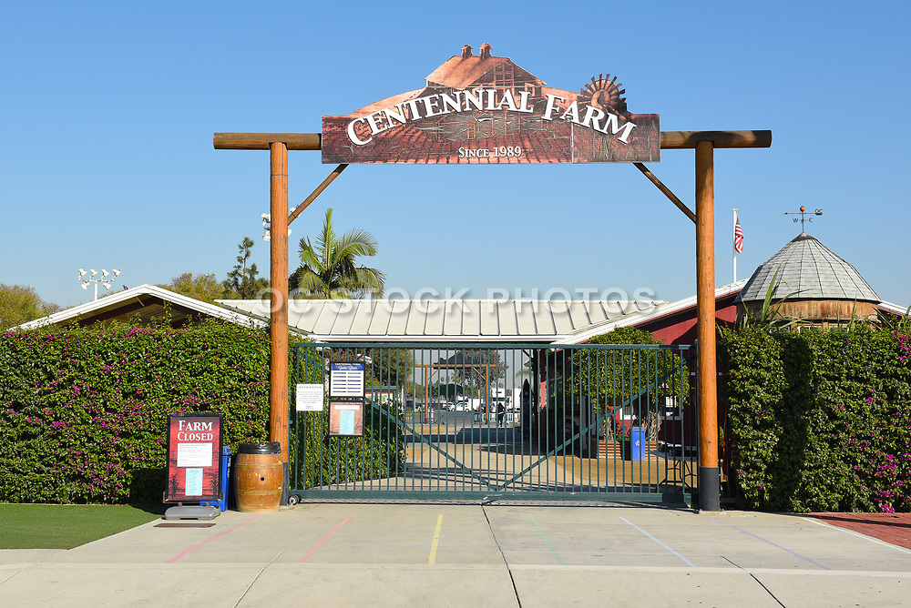 Centennial Farm Gate Entrance At The OC Fair And Event Center