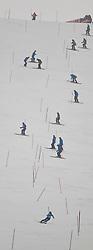 19.02.2011, Gudiberg, Garmisch Partenkirchen, GER, FIS Alpin Ski WM 2011, GAP, Herren, Slalom, im Bild feature Pistenarbeiter // Volunteer during Men's Slalom Fis Alpine Ski World Championships in Garmisch Partenkirchen, Germany on 20/2/2011. EXPA Pictures © 2011, PhotoCredit: EXPA/ J. Groder