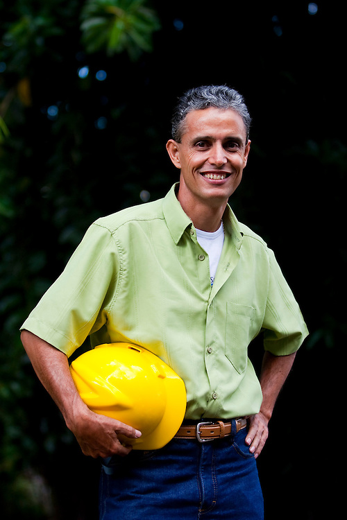 Divinopolis_MG, Brasil...Retrato de um o operario em Divinopolis, Minas Gerais...A worker portrait in Divinopolis, Minas Gerais...Foto: LEO DRUMOND / NITRO..