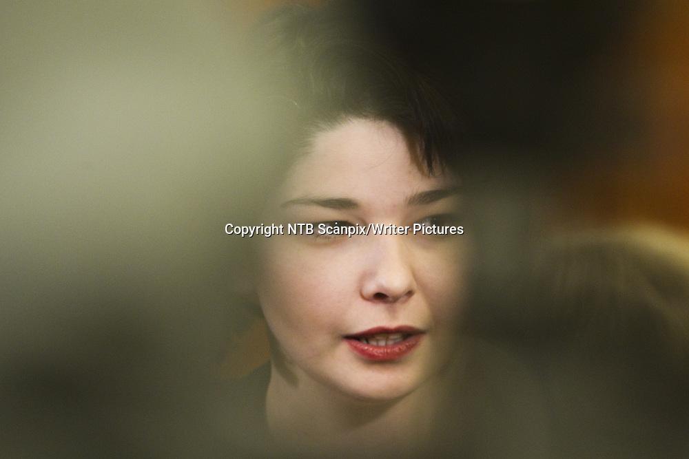 Oslo  20110113. Den papirl&macr;se asyls&macr;keren og forfatteren Maria Amelie m&macr;tte torsdag ettermiddag til fengslingsm&macr;te i Oslo tingrett.<br /> Foto: Berit Roald / Scanpix<br /> <br /> NTB Scanpix/Writer Pictures<br /> <br /> WORLD RIGHTS, DIRECT SALES ONLY, NO AGENCY