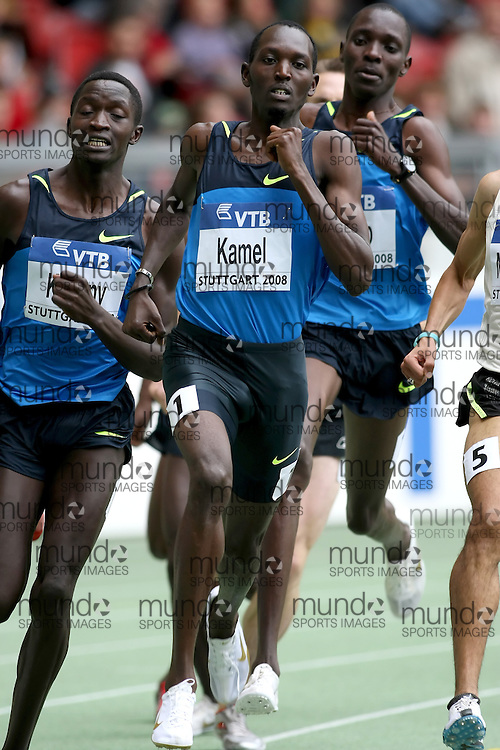 (Stuttgart, Germany---14 September 2008) Yusuf Saad Kamel (BRN) finished fifth in the 1500m at the 2008 IAAF World Athletics Final. [Copyright Sean W. Burges/Mundo Sport Images, 2008.]