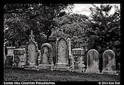 Headstone Row<br /> Laurel Hill Cemetery - Philadelphia<br /> July 2014