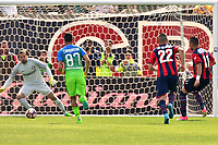 gol Diego Falcinelli goal<br /> Crotone 09-04-2017, Stadio Stadio Ezio Scida, Football Calcio 2016/2017 Serie A, Crotone - Inter, Foto Image Sport/Insidefoto