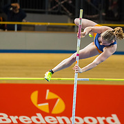 NLD/Apeldoorn/20180217 - NK Indoor Athletiek 2018, poolstokhoogspringen,