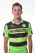 Forest Green Rovers Christian Doidge(9) during the Forest Green Rovers Photocall at the New Lawn, Forest Green, United Kingdom on 31 July 2017. Photo by Shane Healey.