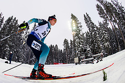 March 8, 2019 - –Stersund, Sweden - 190308 Anais Chevalier of France competes in the Women's 7.5 KM sprint during the IBU World Championships Biathlon on March 8, 2019 in Östersund..Photo: Petter Arvidson / BILDBYRÃ…N / kod PA / 92247 (Credit Image: © Petter Arvidson/Bildbyran via ZUMA Press)