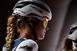Tayler Wiles (USA) before Stage 7 of 2019 Giro Rosa Iccrea, a 128.3 km road race from Cornedo Vicentino to San Giorgio di Perlena, Italy on July 11, 2019. Photo by Sean Robinson/velofocus.com