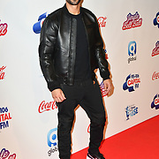 Marvin Humes arrives at Capital's Jingle Bell Ball with Coca-Cola at London's O2 Arena on 9th December 2018, London, UK.