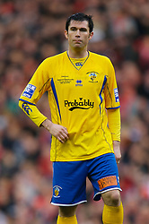 LIVERPOOL, ENGLAND - Saturday, January 26, 2008: Havant and Waterlooville's Mo Harkin in action against Liverpool during the FA Cup 4th Round match at Anfield. (Photo by David Rawcliffe/Propaganda)
