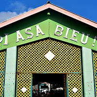 Plasa Bieu Old Market in Punda, Eastside of Willemstad, Cura&ccedil;ao  <br />