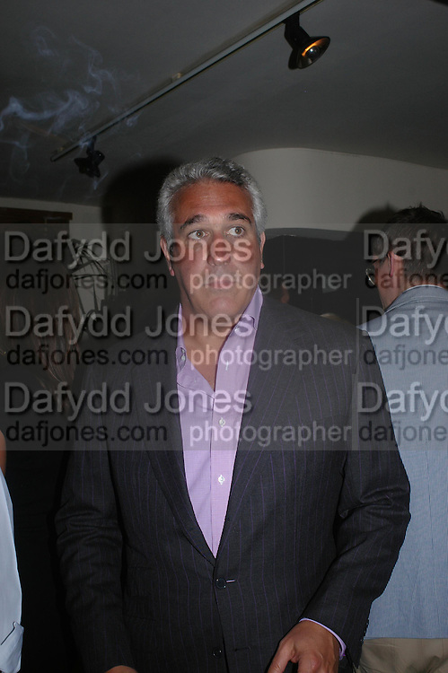 Laurence Stroll. Dinner at San Lorenzo, Beauchamp Place after Tod's hosts Book signing with Dante Ferretti celebrating the launch of 'Ferretti,- The art of production design' by Dante Ferretti. 19 April 2005.  ONE TIME USE ONLY - DO NOT ARCHIVE  © Copyright Photograph by Dafydd Jones 66 Stockwell Park Rd. London SW9 0DA Tel 020 7733 0108 www.dafjones.com