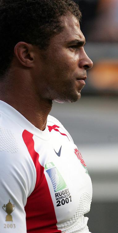 Jason Robinson of England. England v USA, Game 4, Rugby World Cup 2007, Lens, France, 8th September 2007.