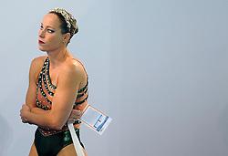 17-03-2008 ZWEMMEN: EK SYNCHROON: EINDHOVEN <br /> Bianca en Sonja van der Velden worden vijfde op het EK<br /> ©2008-WWW.FOTOHOOGENDOORN.NL