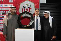February 23, 2019 - Abu Dhabi - Foto LaPresse - Fabio Ferrari.23 Febbraio 2019 Abu Dhabi (Emirati Arabi Uniti).Sport Ciclismo.UAE Tour 2019 - Conferenza Tor Riders.Nella foto: Saeed Mohammed Hareb..Photo LaPresse - Fabio Ferrari.February 23, 2019 Abu Dhabi (United Arab Emirates) .Sport Cycling.UAE Tour 2018 - Top rider press conference.In the pic: Saeed Mohammed Hareb (Credit Image: © Fabio Ferrari/Lapresse via ZUMA Press)