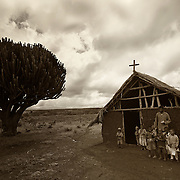 &ldquo;African Schoolhouse&rdquo;                                        Tanzania<br />