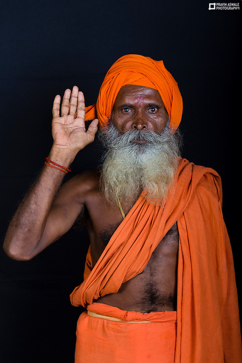 SADHUS IN KUMBHMELA AT TRIMBAK, NASHIK, INDIA