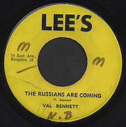 Reggae Record Single 45 Label