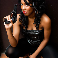 Taesia Steele is Ms Foxy as featured in Foxfire International comic.