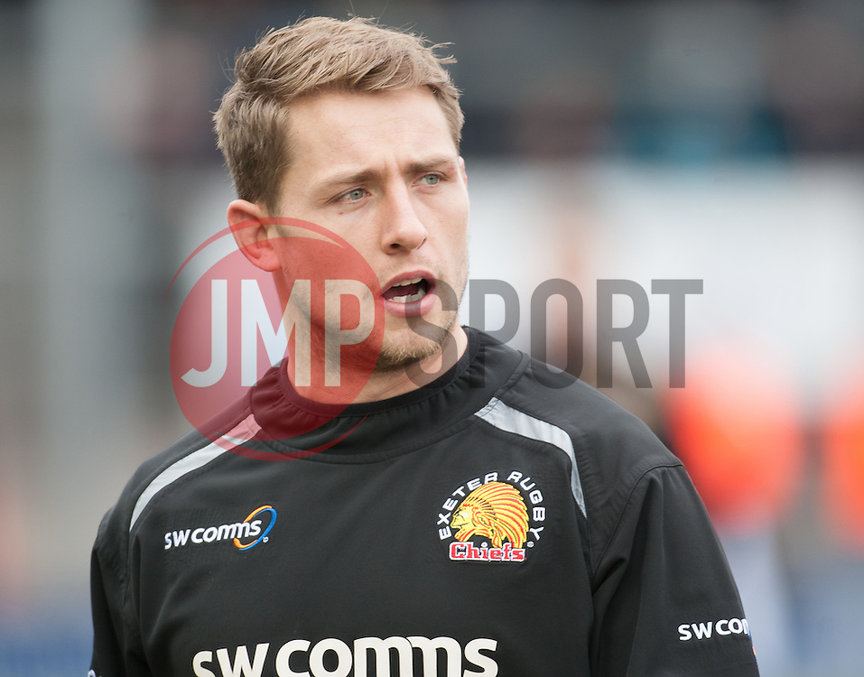 Sam Hill of Exeter Chiefs.  - Mandatory byline: Alex Davidson/JMP - 20/03/2016 - RUGBY - Sandy Park - Exeter, England - Exeter Chiefs v Northampton Saints - Aviva Premiership